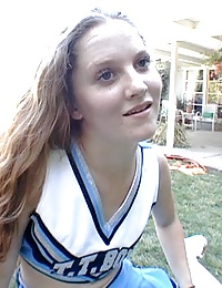 cum swallowing cheerleaders drinking jizz