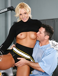 Jamey Janes Gets Peppy for Prick!