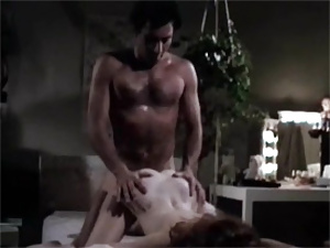 Retro hairy fuck and suck feast in vintage old bed hardcore