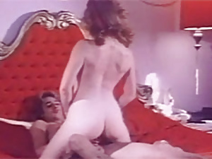 Hairy retro cunt penetrated