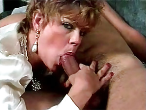 Lucky guy cumming all over her firm seventies ass