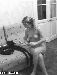 Spy on nude woman in hotel room