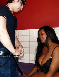Black prostitute pleasing a Mexican cock for some money