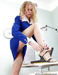 Once boss is away, some secretaries want to play
