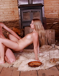 Andrea and Kolomanon hot photo
