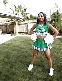 bubble butt cheerleader slut