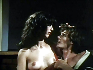 Vintage seventies hot beautiful chick hardcore sex movie