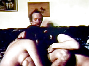 Retro hippies getting cock inside their hairy fuckholes